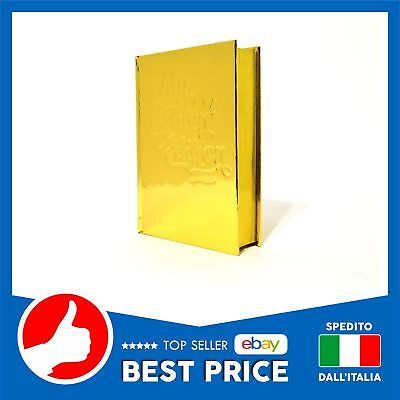 Diario Smemoranda 2019 - 16 Mesi Pocket My Golden Edition Copertina Rigida Oro °