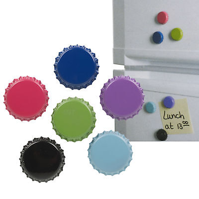 6 Extra Strong Fridge Memo Magnets Magnetic Kitchen Notice Board Note Holder