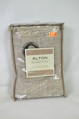 Alton One Grommet Top Panel, 54 in. W x 84 in. L - Tan