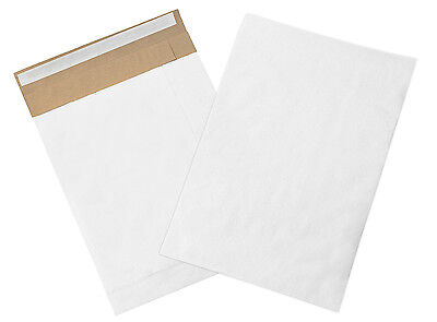 """Box Partners Self-Seal Padded Mailers 10 1/2"""" x 16"""" White 100/Case B809WSS"""