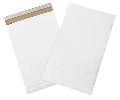 "Box Partners Self-Seal Padded Mailers 12 1/2"" x 19"" White 25/Case B810WSS25PK"