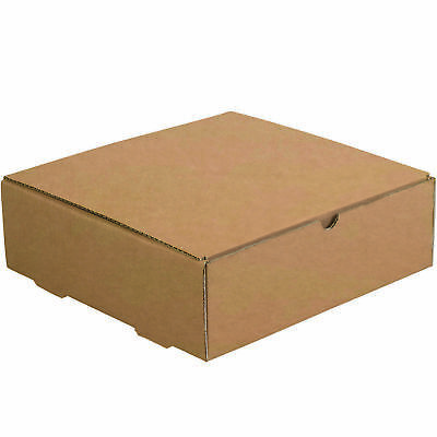 "Box Partners Literature Mailers 11 1/2"" x 11 1/2"" x 3 3/4"" Kraft 50/Bundle"