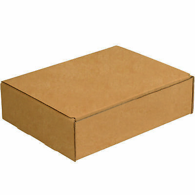 "Box Partners Literature Mailers 11 1/8"" x 8 3/4"" x 3"" Kraft 50/Bundle M1183K"
