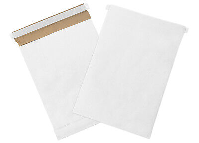 "Box Partners Self-Seal Padded Mailers 9 1/2"" x 14 1/2"" White 100/Case B807WSS"