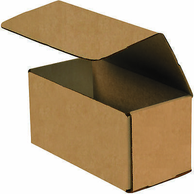 "Box Partners Corrugated Mailers 10"" x 5"" x 5"" Kraft 50/Bundle M1055K"