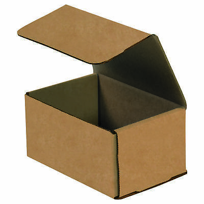 "Box Partners Corrugated Mailers 6"" x 5"" x 3"" Kraft 50/Bundle M653K"