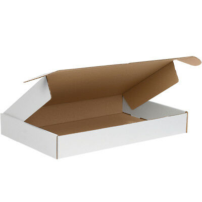 "Box Partners Deluxe Literature Mailers 18"" x 12"" x 2"" White 50/Bundle MFL18122"