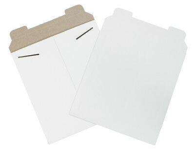 "Box Partners Flat Mailers 20"" x 27"" White 50/Bundle RM12SFW"