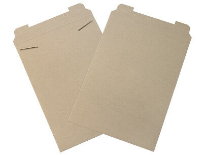 "Box Partners Flat Mailers 13"" x 18"" Kraft 100/Case RM6"