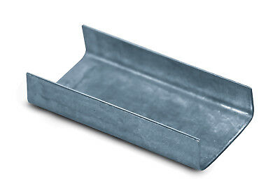 Box Partners Steel Strapping Seals Open/Snap On Heavy Duty 3/4' Silver 1000/Case