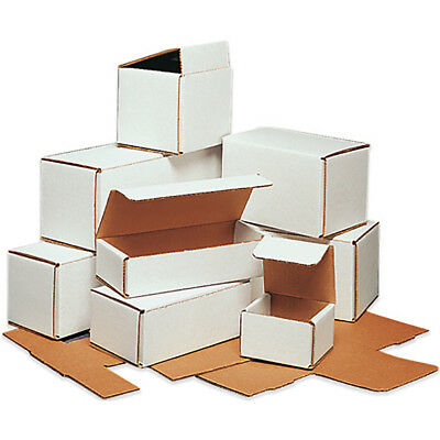 """Box Partners Corrugated Mailers 8"""" x 8"""" x 8"""" Oyster White 50/Bundle M888"""