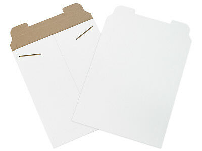 """Box Partners Flat Mailers 11"""" x 13-1/2"""" White 100/Case RM3W"""
