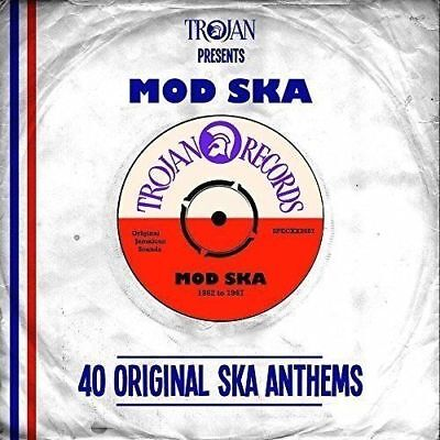 TROJAN Presents MOD SKA 2 CD - 40 Original Ska Anthems