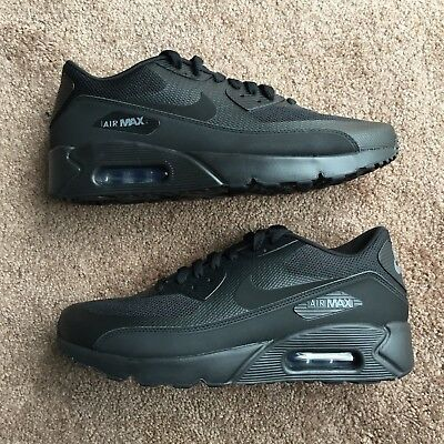 separation shoes 34e89 b522f Nike Air Max 90 Ultra 2.0 Essential Black-Black-Dark Grey Size 10