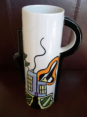 Lorna Bailey Water Jug Bauhaus Design Pitcher Unusual Art Deco Out Of Prouction