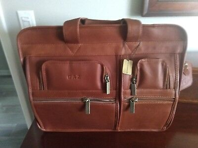 ecbd1e6271af CLAIRE CHASE EXECUTIVE Leather Computer Briefcase