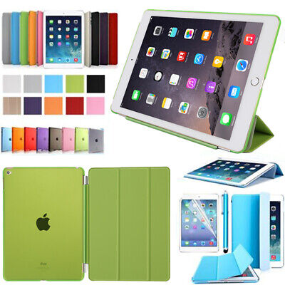 "F.Apple iPad Schutz Hülle(2018) 9.7"" Tablet Tasche Case +Folie Smart Cover"