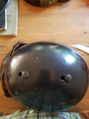 WW2 German FiremanHelmet  model 34 complete with liner and chin strap