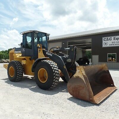 2012 John Deere 624K Wheel Loader Wheel Loaders LOW HOURS NICE NEW TIRES!