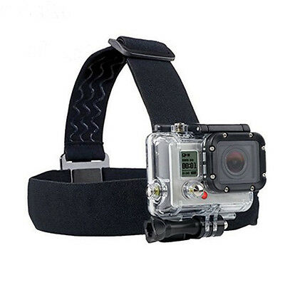 Action Camera Accessory Headband Chest Head Strap Mount  For Gopro Hero HelmeSHS