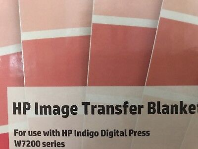 HP Image Transfer Blanket (5 total) for HP Indigo W7200 series (last box)