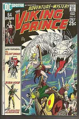 DC SPECIAL #12 VF DC 1971. Viking Prince by Kubert rep.