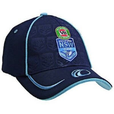 Nrl New South Wales State Of Origin/blues Premium Cap - Brand New