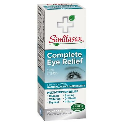 Similasan Complete Eye Relief Drops, 0.33 Fl Oz, Exp 08/20
