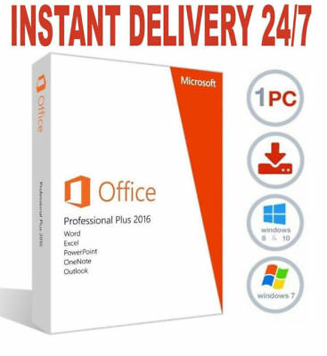 ms office profesionsl plus 2016 license key