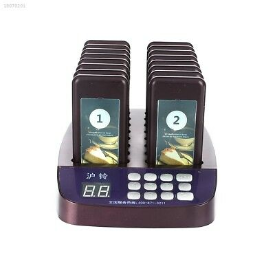 System Wireless Restaurant Pagers Restaurant Calling Coffee Pager 863DC5D