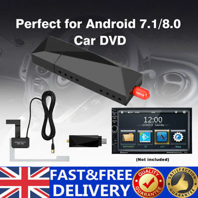 USB DAB+Digital Radio Tuner Receiver Antenna For Android 7.1/8.0 Car Stereo DVD