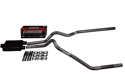Ford F150 F250 2009-2018 Dual Exhaust Flowmaster Super 44 Muffler Exhaust Kit