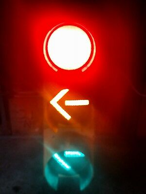 "Durasig Traffic Signal 12"" LED Lights Left / Right Directional Arrows As Shown"