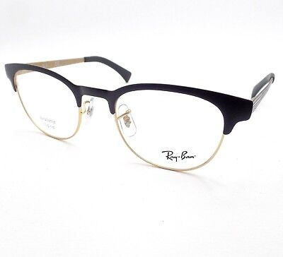 ecf2ce4e917 Ray Ban RB 6317 2833 Matte Black Gold RX Frames New Authentic Buyer Picks  Size