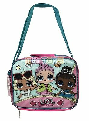 LOL Surprise Insulated Lunch Box Bag Kit for Kids