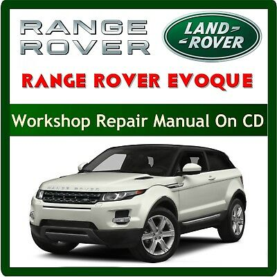 Range Rover Evoque L538 Workshop Service Repair Manual Pdf + Wiring 2011-2017