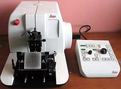 Leica Rm2165 Motorized Microtome With Controller