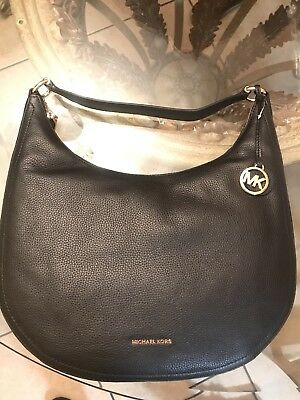 65e03d0f9e MICHAEL KORS LYDIA Large Hobo Mulberry MSRP   298 -  149.00