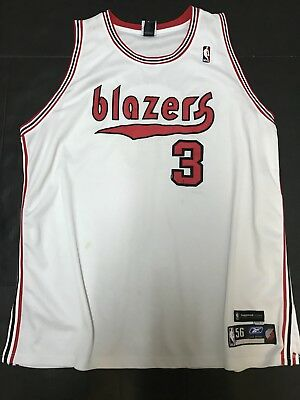 huge discount 9dea3 dffc1 DAMON STOUDAMIRE PORTLAND TRAIL BLAZERS AUTHENTIC ALTERNATE JERSEY Reebok 56