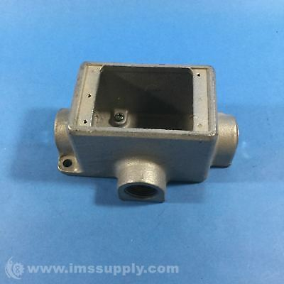 Crouse Hinds Fdct2 Cast Device Boxes, Condulet Series Fnip