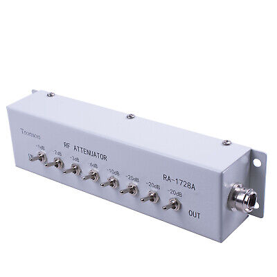 NEW 0-82DB VARIABLE/ STEP ATTENUATOR OHM for Ham Radio Transmitter DC to250MHZ