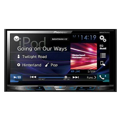 "Pioneer Double 2 Din AVH-X491BHS RB DVD/CD Player 7"" Bluetooth HD Radio AUX USB"