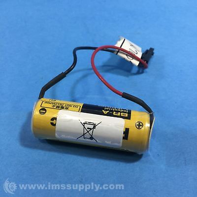 Panasonic Br-A Battery, 3 V, A, Lithium, 1.8 Ah Fnip