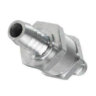 """One Way Fuel Non Return Check Valve 3/8"""" 10mm Petrol And Diesel Oil Bio Fuel"""
