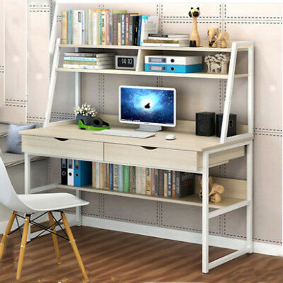 Modern Multifunction PC Table Computer Desk Workstation Work Study Home Office