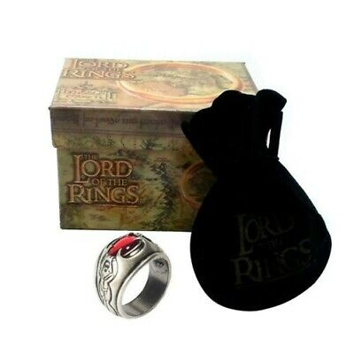 Signore Rings Ring Witch King RE HUMANS Ring OFFICIAL Hobbit LOTR Lord Rings