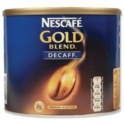 Nescafe Gold Blend Instant Coffee Decaffeinated Tin 500g - 5200230. Best Price