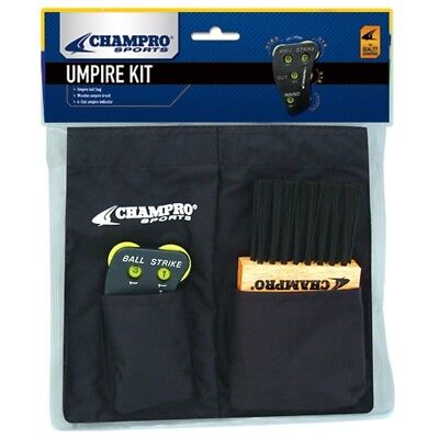 (Black) - Champro Umpire Kit for A045,A040,A048. Shipping Included