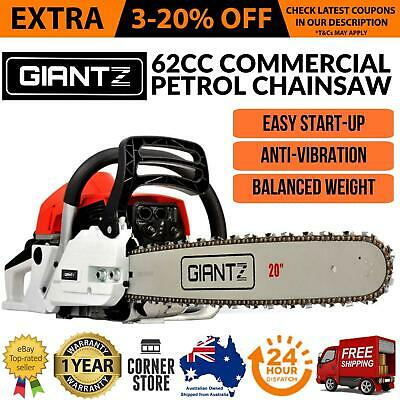 GIANTZ Latest 62cc Petrol Commercial Chainsaw 20