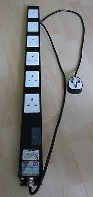 Multi point under desk extension lead. Multipoint